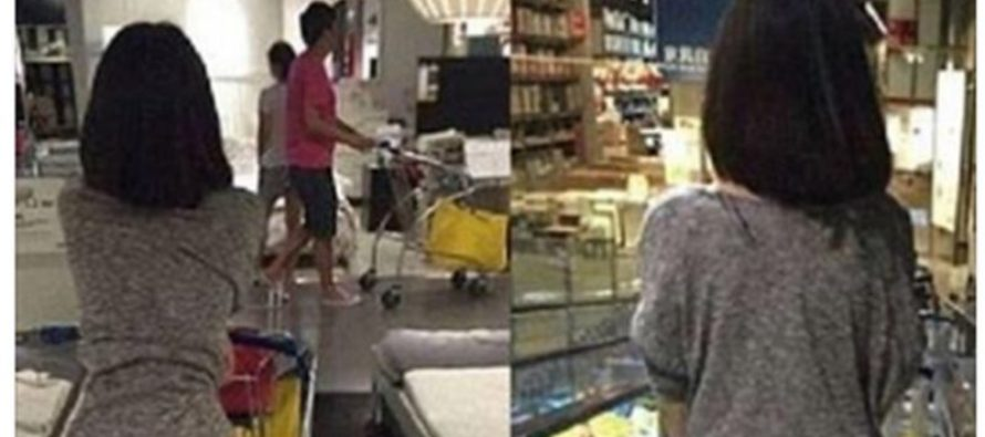 Photos Of Half-Naked IKEA Customer Go Viral, Spark Debate (Photos)