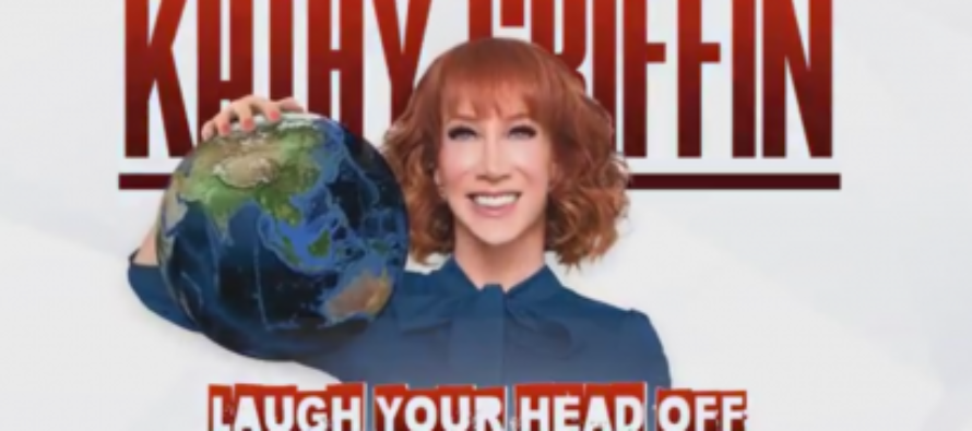 Celebrity comedian Kathy Griffin announces 'Laughing Your Head Off' world tour