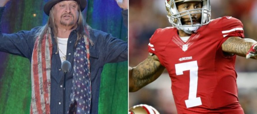 Kid Rock Has Words For Colin Kaepernick – 'F*** You' [WATCH]