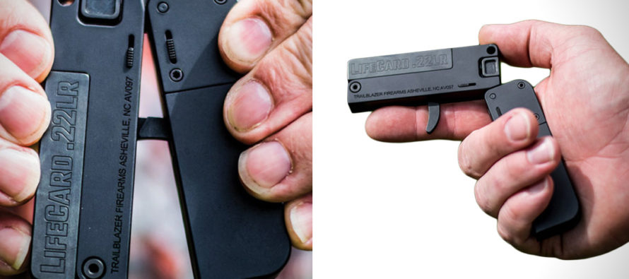 AMAZING: The new folding five round hand gun that will FIT IN YOUR WALLET