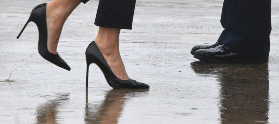 Check Out The Fashion Editor Who Trashed Melania's Shoes – Do You See The Irony?