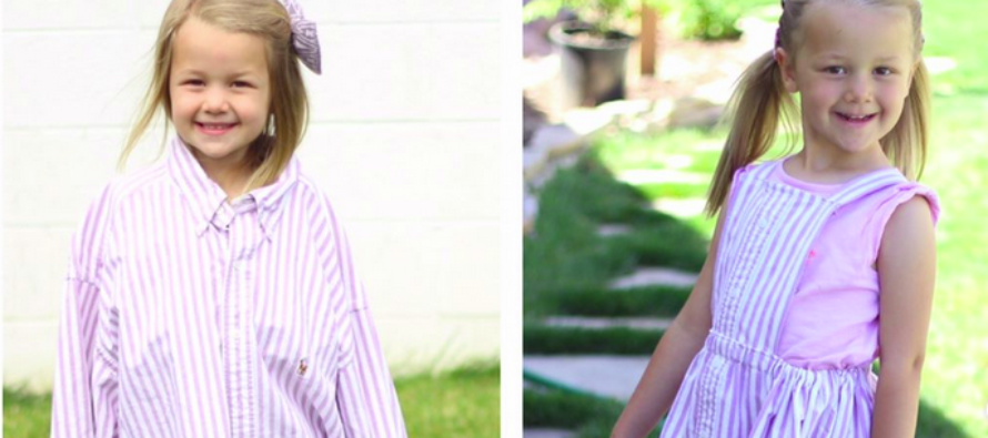 Creative Mom Transforms Husband's Old Work Shirts Into Something Amazing