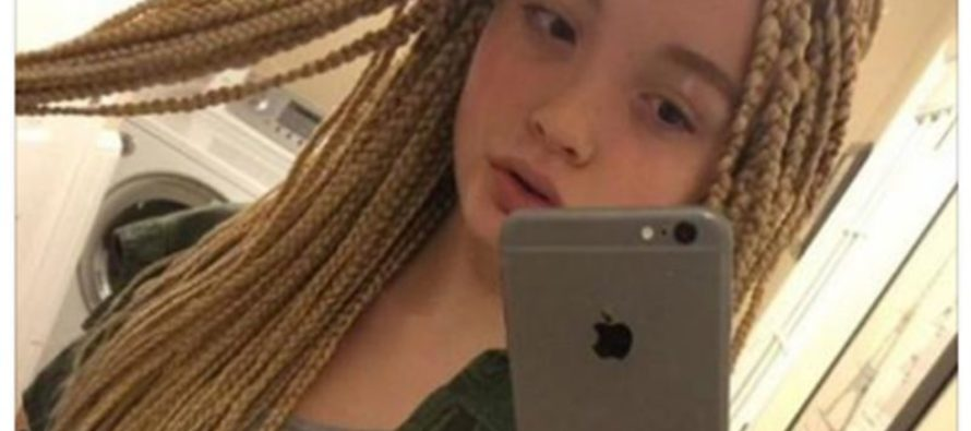 White 12 Year-Old Sparks Outrage From Picture of New Hairstyle; Was The Response Appropriate? (Photo)