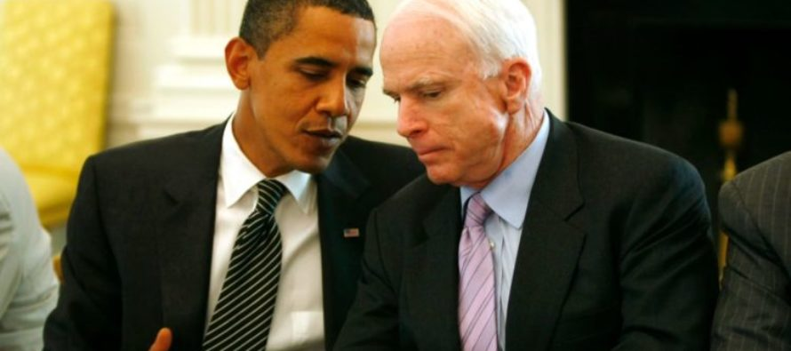 McCain SILENT When Obama Released Terrorists, But Lambastes President Trump's Pardon For America's Favorite Sheriff