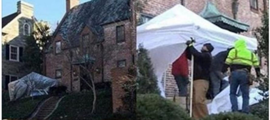 People Noticed Something Odd In the Garage Area of Obama Family's New $5.3 Million Home