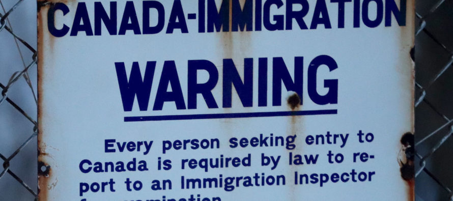 Canadian PM Trudeau Finally Realizes That Uncontrollable Illegal Immigration Isn't So Great