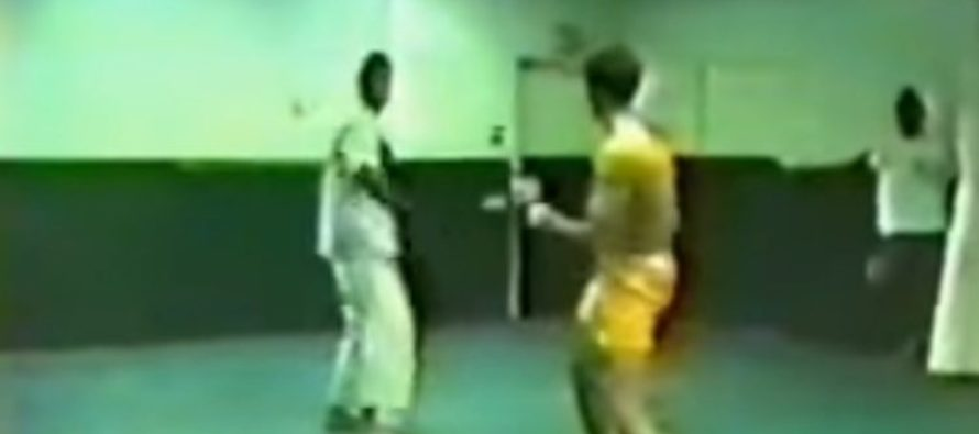 Kung Fu Fighter Vs. Jiu-Jitsu Legend in Underground Fight [VIDEO]