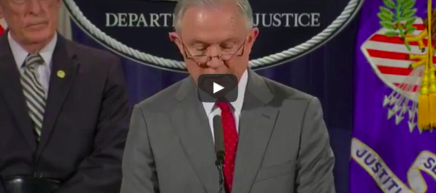 BREAKING: Sessions Determined To Stop 'Intel Leaks', Comes Up With New Strategy – 4 People Already Charged