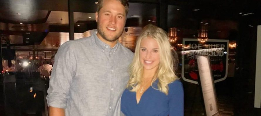 The Wife of Detroit's QB Just Sent a Message to Husband's NFL Colleagues Disrespecting the Anthem