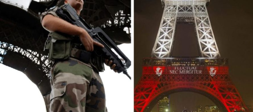 "Soldiers Arrest Knifeman Who Stormed Eiffel Tower Shouting ""Allah Akhbar"""