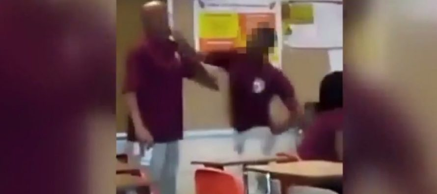 VIDEO: HS Student Socks Teacher Right In The Face – Then It Gets Even WORSE