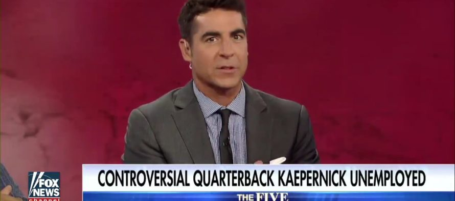 Fox's Jesse Watters on Colin Kaepernick: 'The Dolphins Aren't Anti-Black – They're Anti-Idiot' [VIDEO]