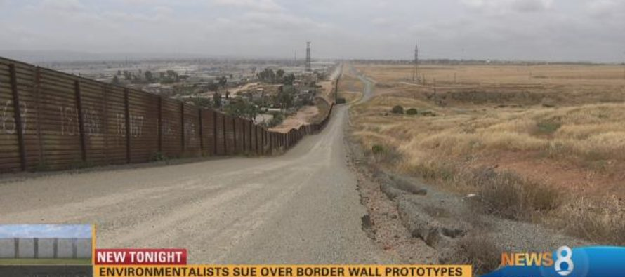 Trump's Wall is Being Built: Massive Prototypes Appear in San Diego [VIDEO]