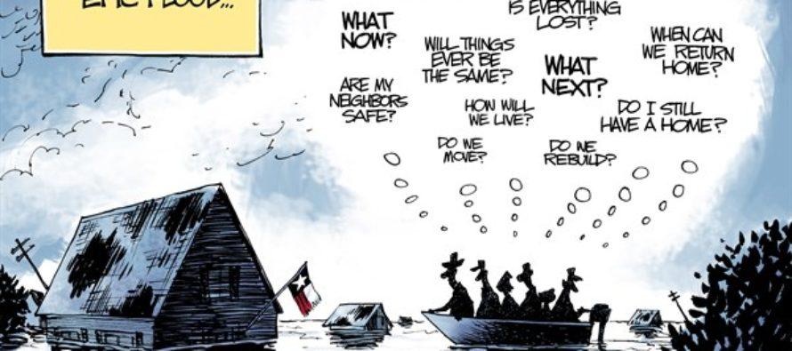 Texas Worry (Cartoon)