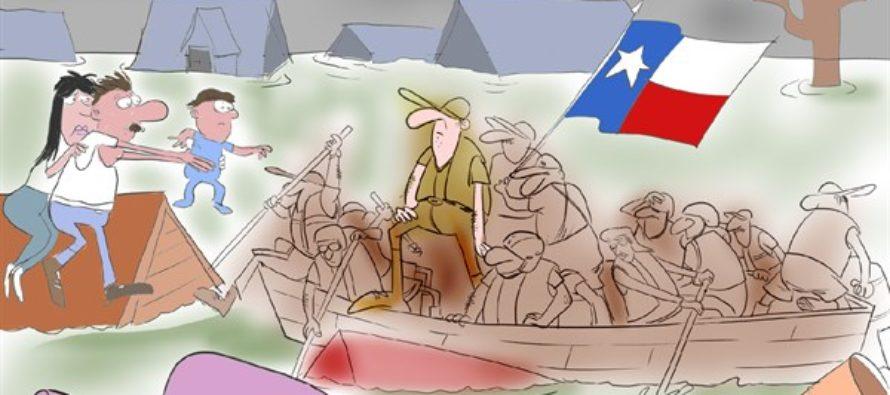 Texas Rescues Texas (Cartoon)