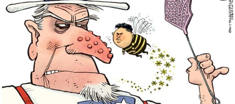 Kim Jong Un Pest (Cartoon)