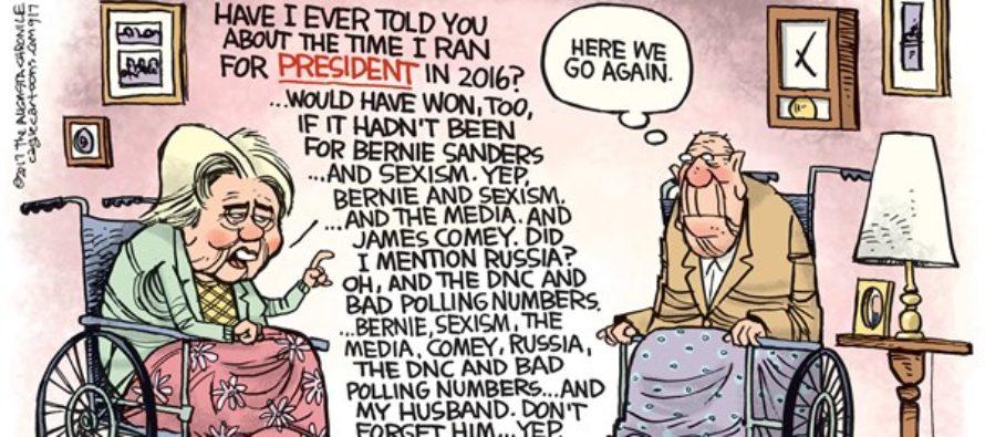Hillary Excuses (Cartoon)