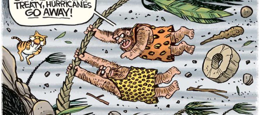 Hurricane Treaty (Cartoon)