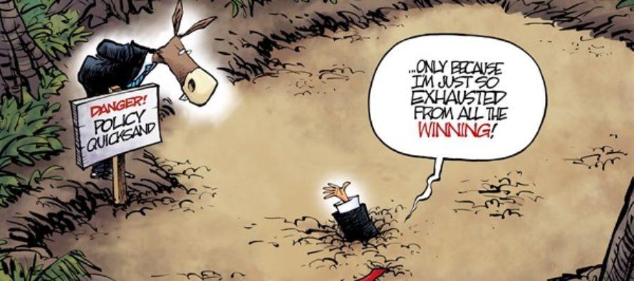 Trump Outreach (Cartoon)