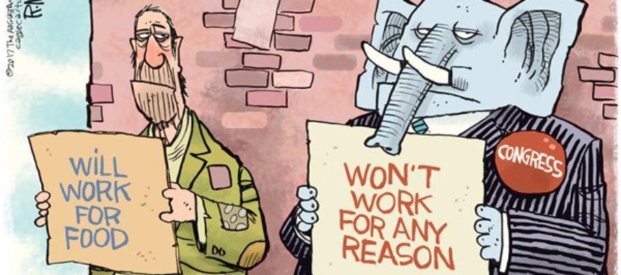 Do Nothing Congress (Cartoon)