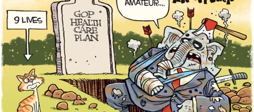 GOP Health Care Plan (Cartoon)