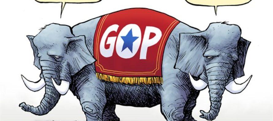 GOP Preexisting Condition (Cartoon)