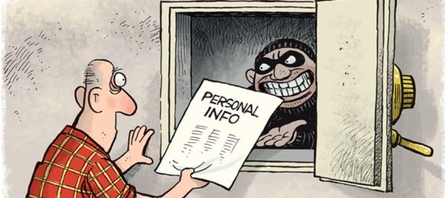 Equifax Hack (Cartoon)