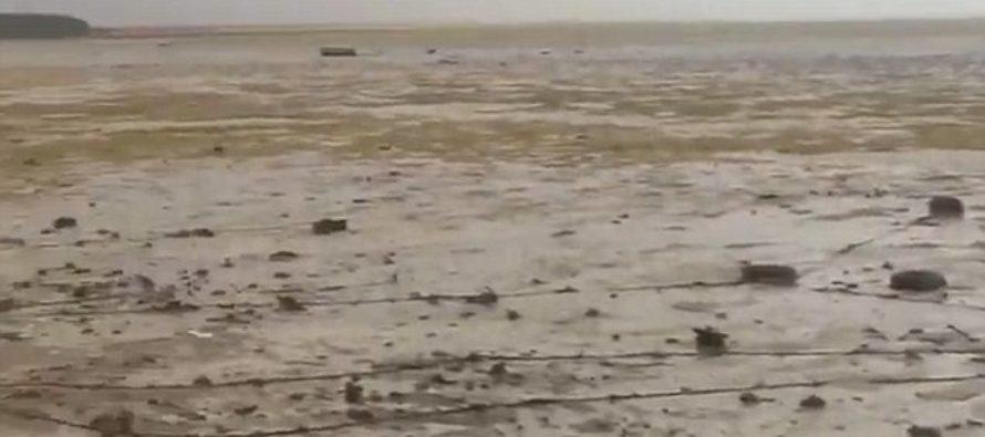 Rare Phenomenon – The Bahamas Has NO Ocean, Irma Has Taken It Away [VIDEO]