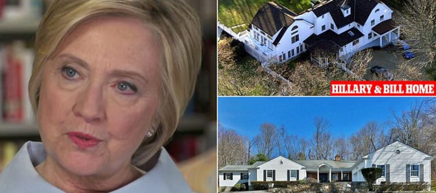 Hillary reveals she bought $1.6 million property next door to her home [VIDEO]