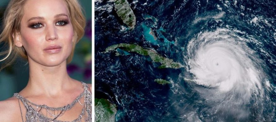 Jennifer Lawrence: Recent Hurricanes Are A 'Punishment' To Conservatives For Electing Trump [VIDEO]