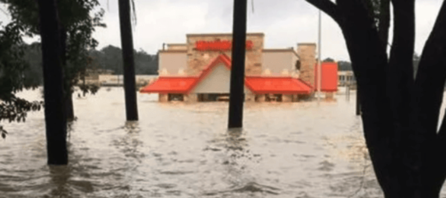 Harvey 1st Responder Gets His First Whataburger [VIDEO]