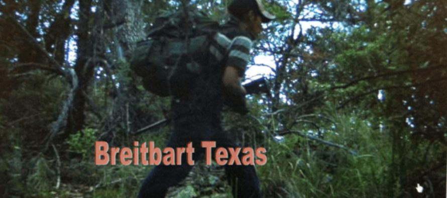 LEAKED: Images Showing Armed Mexican Cartel Smugglers Crossing Into U.S. [Photos]
