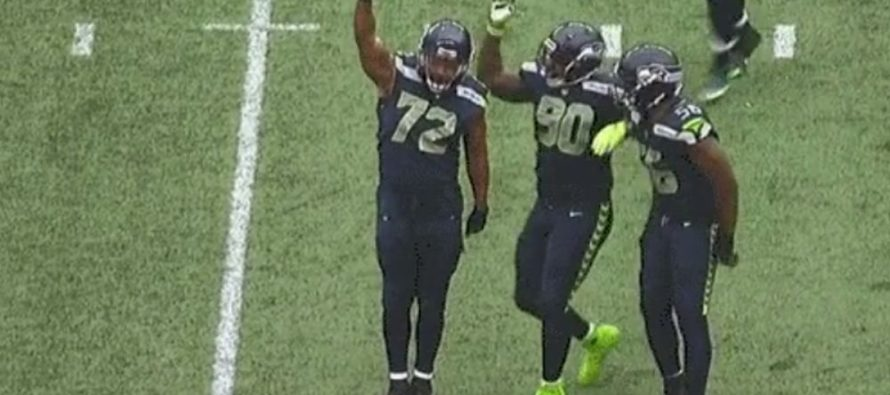 Seattle Seahawks Player Celebrates Sack With 'Black Power' Salute During Game