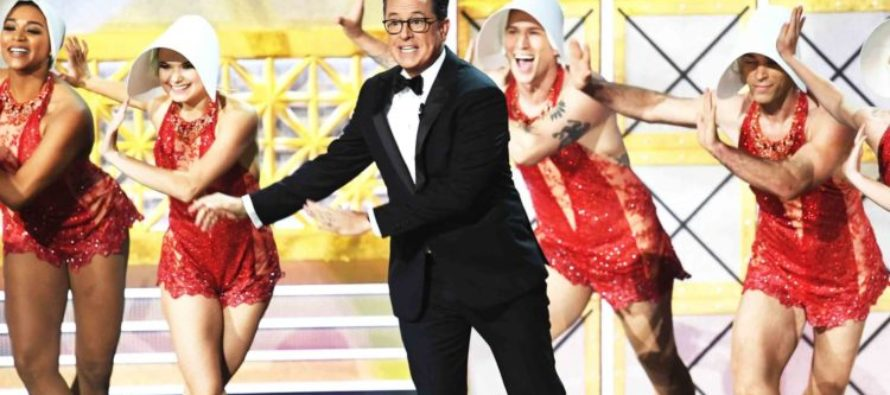 Self-Destruct Mode: Trump-Hating Emmys Hit All-Time Ratings Low