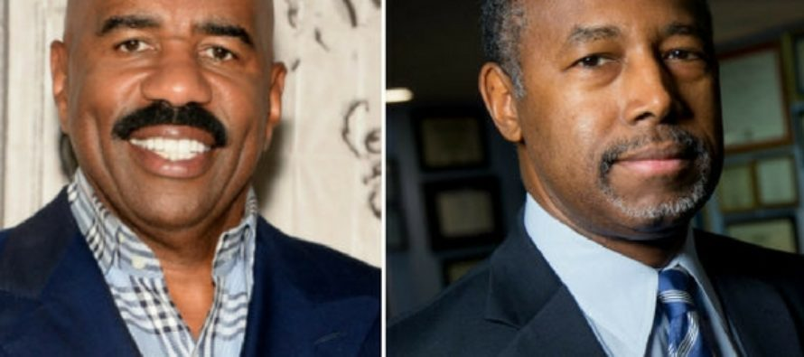 Despite Harsh Anti-Trump Backlash, Steve Harvey Joins Ben Carson On HUD Project [VIDEO]