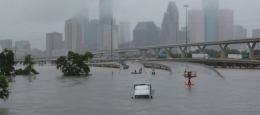 Liberal Atheist Asks Harvey Victims Why Their God Is Doing This To Them – Texas Responds!