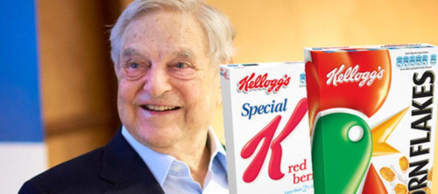 REVEALED: Kellogg Foundation Donates Shocking Amount To Soros Pro-Socialist Organizations