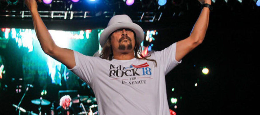 WHOA! Kid Rock's First Campaign Speech, Nothing Like You've Seen Before [VIDEO]