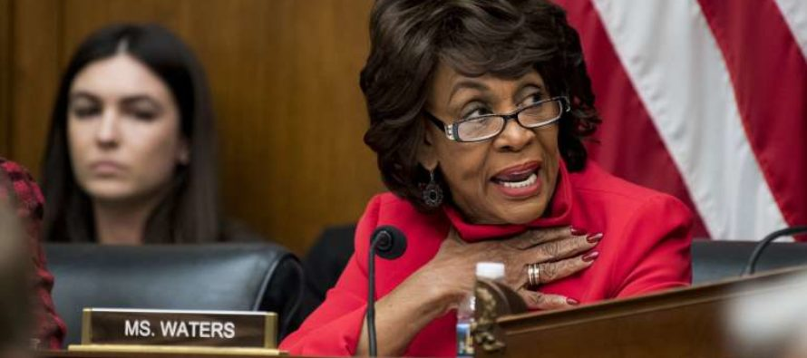 Maxine Waters Has Cracked – Now Claiming The Alt-Right Is Out To Kill Her!