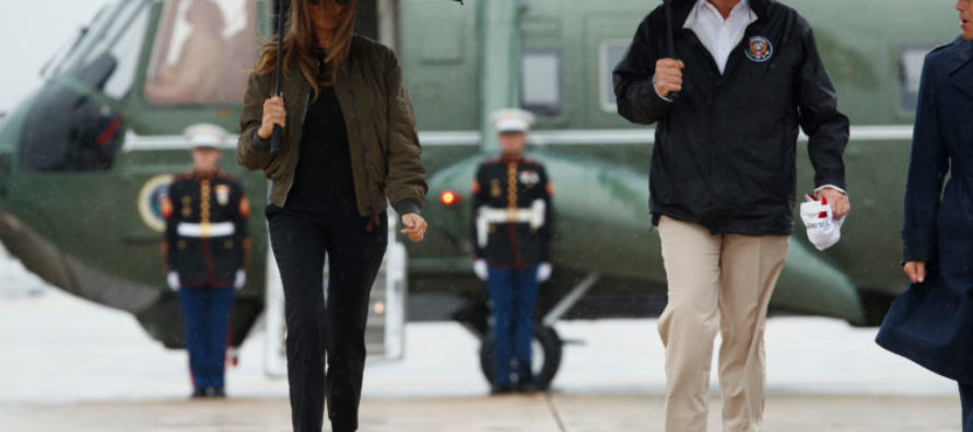 As Soon As The Media Reports What Melania Wore BACK To Texas, The Left Will LOSE IT!