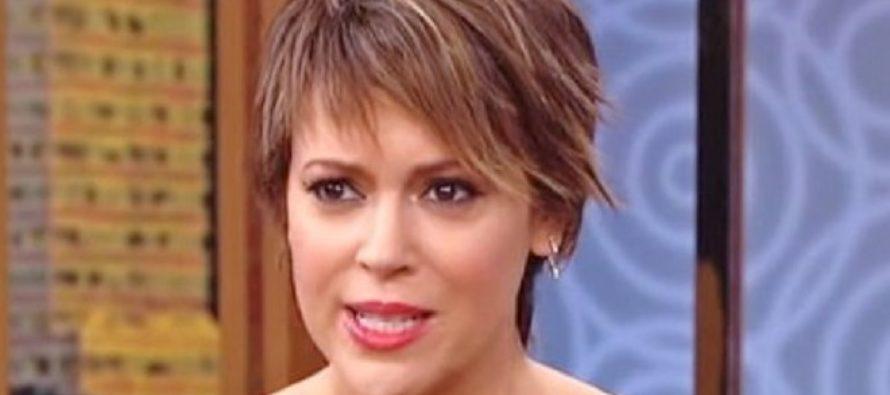 Alyssa Milano Calls Harvey National Day of Prayer, 'National A**hole Day' – America Responds!