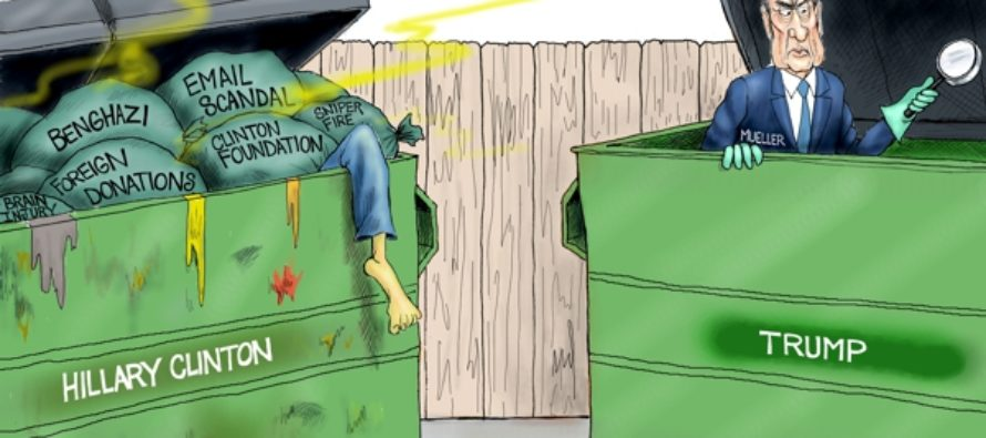 Trumpster Diving (Cartoon)