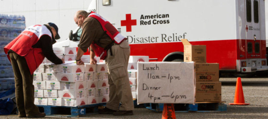 Woman Shocked by Alleged Behavior of Red Cross After She Brought 400 Burgers for Harvey Victims