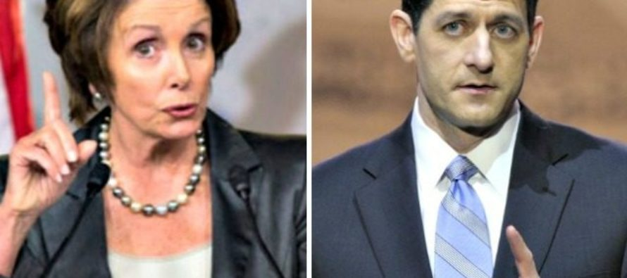 Congrats To Paul Ryan, Who Has Now Become As Unpopular As Nancy Pelosi
