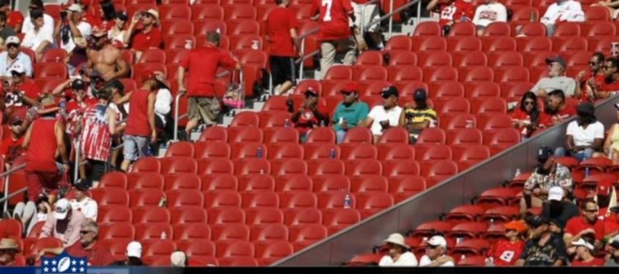 The NFL Encouraged 'Kneelers' Now Americans Repay With Empty Stadium Seats [VIDEO]