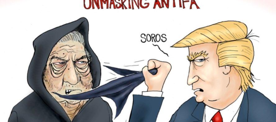 Unmasking Antifa (Cartoon)