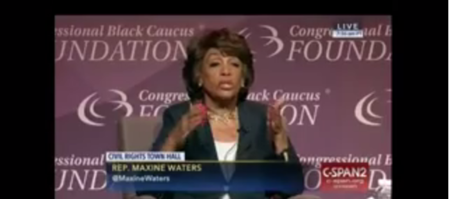 Maxine Waters: 'Black People Get Controversial, Play The Race Card!' [VIDEO]