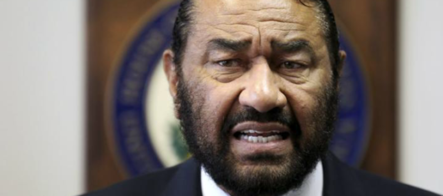 Democrat Rep. Al Green: Black People Shouldn't Go To White House Until Trump Apologizes
