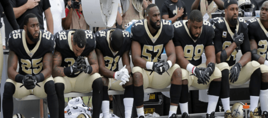 Louisiana Politician Wants to Take State Money Away from Saints After They Protest the Flag
