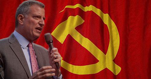 bill-de-blasio-communist